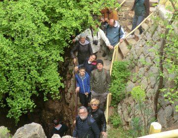 Visita alle grotte di Baredine
