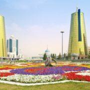 Photo of the capital of the Republic of Kazakhstan. Astana City